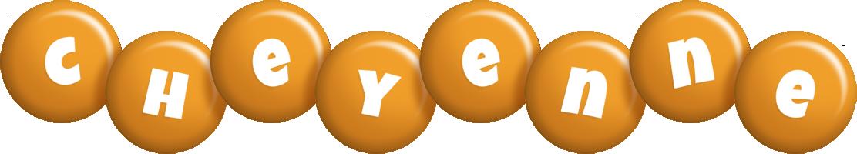 Cheyenne candy-orange logo
