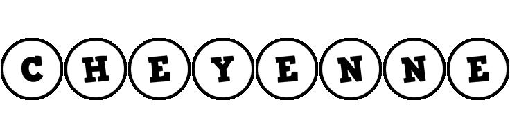 Cheyenne handy logo