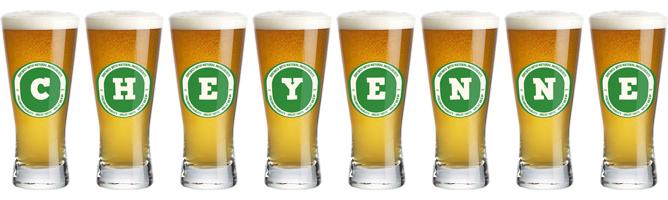 Cheyenne lager logo