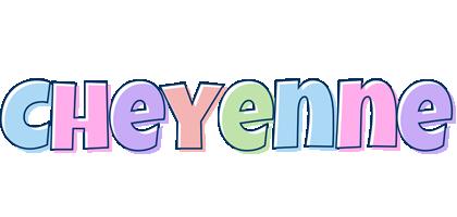 Cheyenne pastel logo