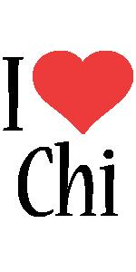 Chi i-love logo