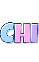 Chi pastel logo