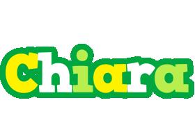 Chiara soccer logo