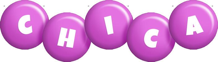 Chica candy-purple logo