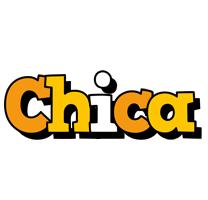 Chica cartoon logo