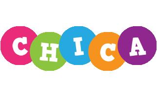 Chica friends logo