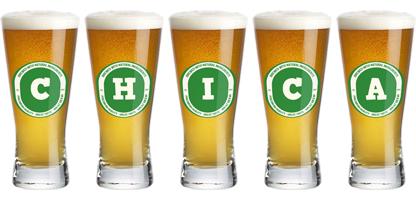 Chica lager logo