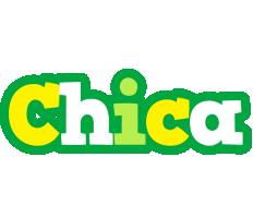 Chica soccer logo