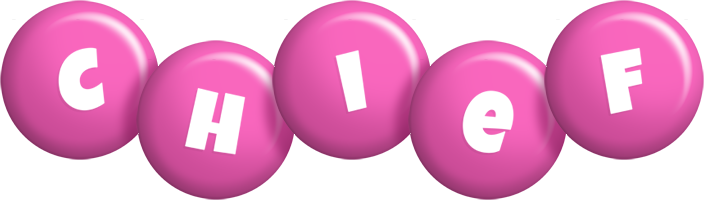 Chief candy-pink logo