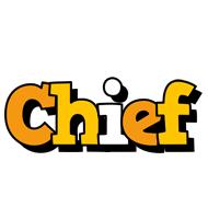 Chief cartoon logo