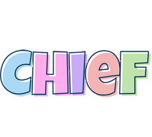 Chief pastel logo