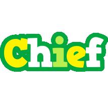 Chief soccer logo