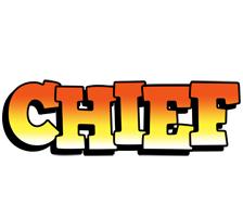 Chief sunset logo