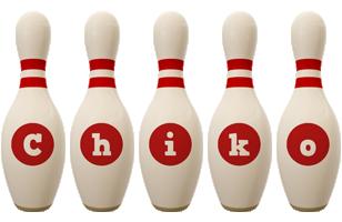 Chiko bowling-pin logo