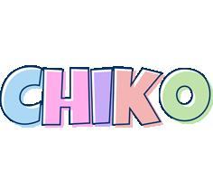 Chiko pastel logo