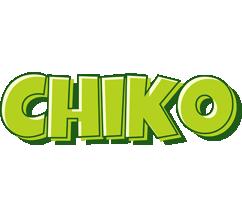 Chiko summer logo