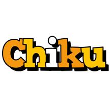 Chiku cartoon logo