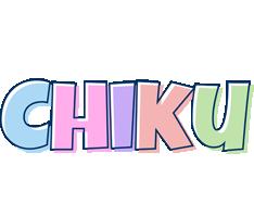 Chiku pastel logo