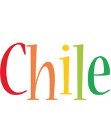 Chile birthday logo