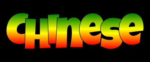 Chinese mango logo