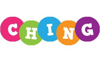 Ching friends logo