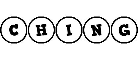 Ching handy logo
