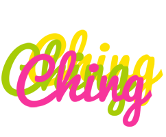 Ching sweets logo
