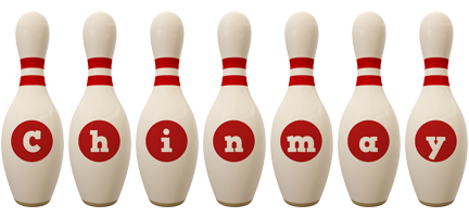 Chinmay bowling-pin logo