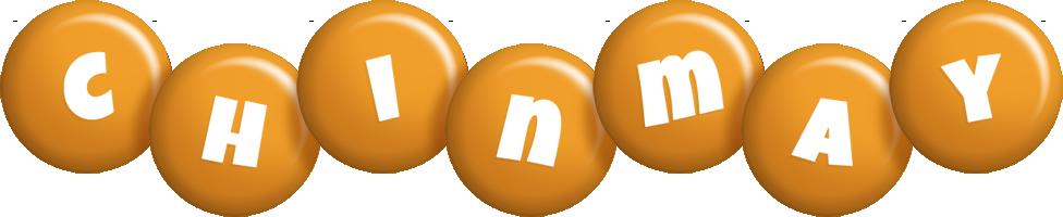 Chinmay candy-orange logo