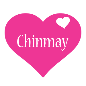 Chinmay love-heart logo