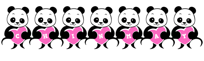 Chinmay love-panda logo