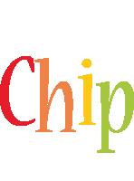 Chip birthday logo