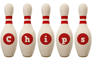 Chips bowling-pin logo