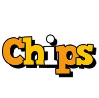 Chips cartoon logo