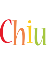 Chiu birthday logo