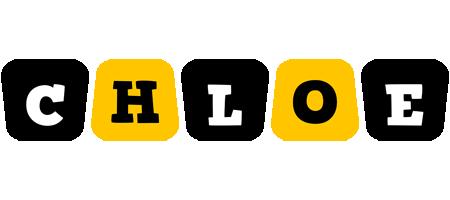 Chloe boots logo