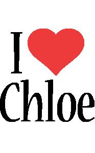 Chloe i-love logo