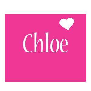 Chloe love-heart logo