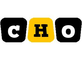 Cho boots logo