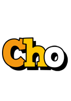 Cho cartoon logo