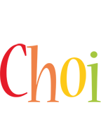 Choi birthday logo