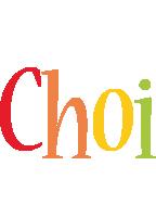 Choi birthday logo