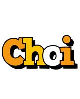 Choi cartoon logo