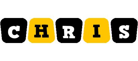 Chris boots logo