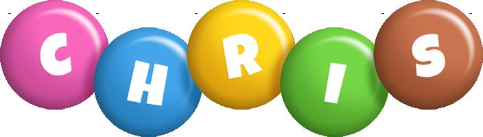 Chris candy logo