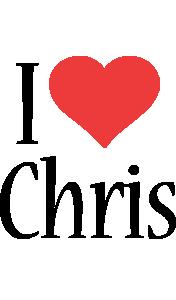 Chris i-love logo