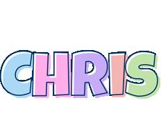 Chris pastel logo