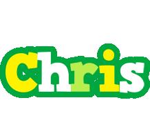 Chris soccer logo