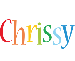 Chrissy birthday logo