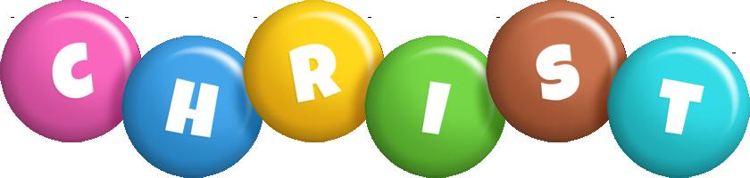 Christ candy logo